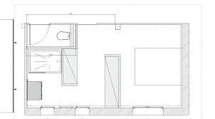 chambre parentale 20m2 superb plan chambre parentale avec salle de bain et dressing 9