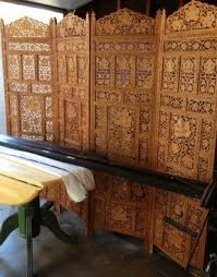 Wooden Room Divider Carved Room Divider Foter