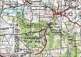 Mohican State Park Map by Mohican River Map Image Mag