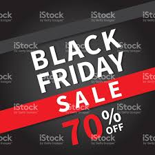 black friday sale signs black friday sale banner design template background stock vector