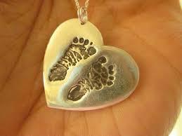custom silver pendants 17 best custom baby pendants images on baby footprints