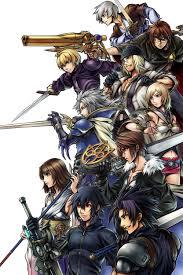 Final Fantasy The 4 Heroes Of Light Brand Final Fantasy Gaiden Four Warriors Of Light Zerochan