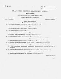 Counselling Skills For Managers Mba Notes Marian Library Mg Mba Third Semester Question Paper 2014