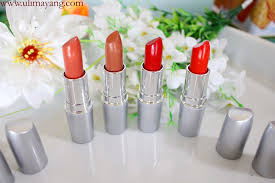 Wardah Matte Lipstick uli mayang review wardah matte lipstick no 04 09 15 dan 17