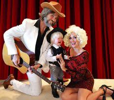Coolest Homemade Kenny Rogers And Dolly Parton Couple Costume