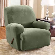 Reclining Sofa Slipcover Furniture 2 Piece Green Large Recilner Slipcover Design Cool