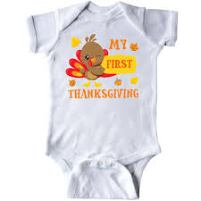 My Thanksgiving Newborn Inktastic My Thanksgiving With Turkey And Leaves Infant