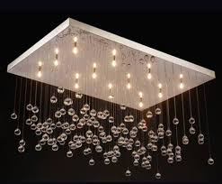 Drop Ceiling Lighting Modern Luxury Drop Ceiling Chandelier L