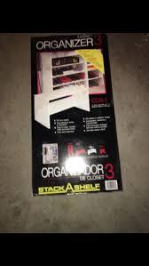stack a shelf closet organizer 3 co3 1 for sale in north andover