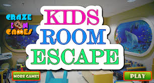 kids room escape craze in games