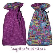 drawstring gift bags reversible drawstring gift bag pattern