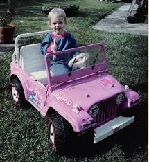 barbie jeep power wheels 90s i think this might be the exact barbie jeep i had when i was little