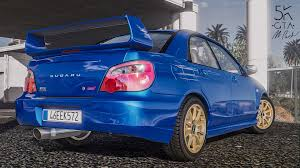 modified subaru impreza hatchback subaru impreza wrx sti 2004 add on tuning gta5 mods com