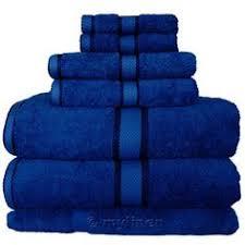 Royal Blue Bathroom Accessories Aruba Blue 6 Pc Bath Towel Set Turquoise My Favorite Colour