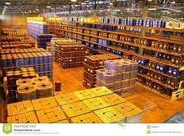 Warehouse Interior Large Warehouse Interior Stock Photo Image 2685970
