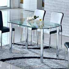 table de cuisine ronde en verre pied central table de cuisine en verre mrsandman co