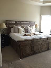 rustic platform bed with storage the summit storage bed is a