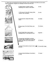 types of mountains worksheet free worksheets library download