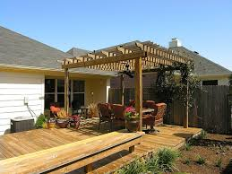 above ground pool deck with pergola deck design and ideas