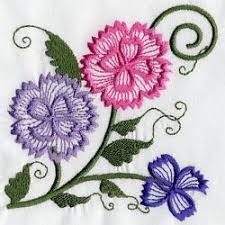 design embroidery embroidery design carnations