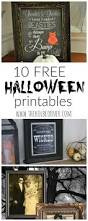 Free Halloween Printable Decorations 10 Free Halloween Printables Free Halloween Printables Holidays