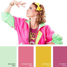 1980s colors 1980s 16 beautiful color palettes inspired by retro fashion