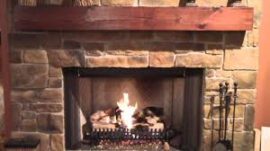 Fireplace Gas Log Sets by Rasmussen Gas Log Set Fireplace Youtube