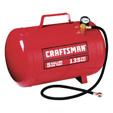 craftsman 5 gallon 135 psi air tank 00915200 air compressor