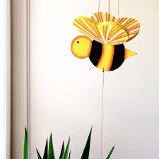 bumble bee mobile unique handmade gift u2013 tulia u0027s artisan gallery