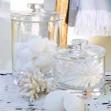 Discounted Bathroom Accessories by Buy Bathroom U003e Bathroom Accessories U003e Glass Storage Jars From The