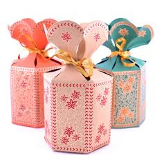 Indian Wedding Mithai Boxes Flower Top Indian Wedding Favor Box U2013 Pen U0026 Favor