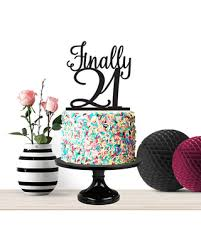 happy birthday cake topper new savings on finally 21 cake topper 21st birthday cake topper