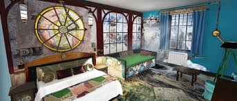 themed rooms at the alton towers resort accommodation