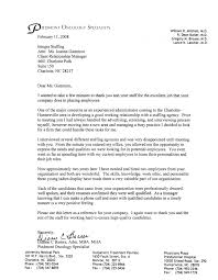 piedmont oncology letter of recommendation