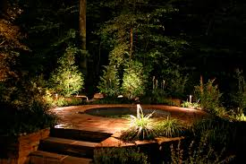 backyards with tubs lighting outdoor lighting perspectives