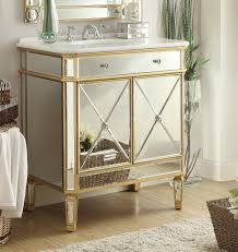 42 inch bathroom vanity without top adelina 32 inch mirrored gold bathroom vanity white marble top