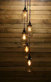 Hanging Light Fixture by Best 25 Mason Jar Pendant Light Ideas On Pinterest Diy Pendant