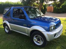 suzuki jimny used suzuki jimny blue for sale motors co uk