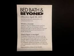Bed Bath And Beyond Registry Wedding How Bed Bath U0026 Beyond Will Punish Customers Making Returns Without