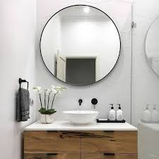 Best Place To Buy Bathroom Mirrors Bathroom Mirror Also Oval Mirrors With Lights Intended For
