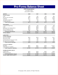 Pro Forma Financial Statements Excel Template 7 Pro Forma Financial Statements Template Procedure Template Sle