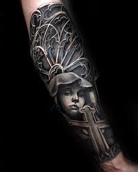 50 badass cross tattoos for manly design ideas