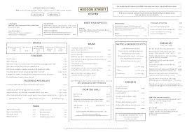 menus heddon street kitchen gordon ramsay restaurants