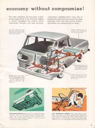 Vintage Ford Truck Specs - ford econoline pickup features u0026 specifications vintage brochures