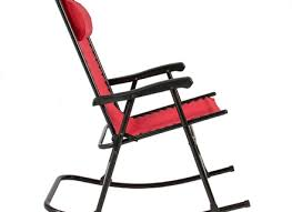 Folding Patio Chair by Folding Rocking Chair Foldable Rocker Outdoor Patio Furniture Red