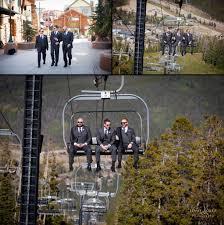 wedding photography with ski lift jenae lopez photography
