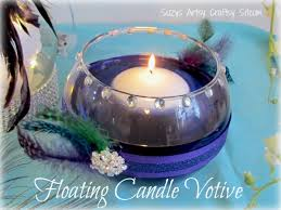 Floating Candle Centerpiece Ideas Diy Wedding U2013 Floral Centerpiece And Floating Candle Votives