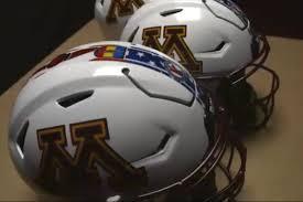 helmet design game minnesota football has a new helmet for maryland the daily gopher