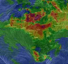 Sahara Desert On World Map by Real Time Interactive Map Shows The Pollution Engulfing Earth