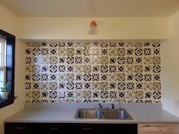 mexican tile kitchen ideas faux talavera tile backsplash